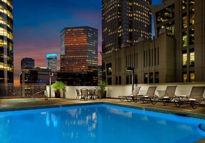 Seasonal Outdoor Pool and Whirlpool at Holiday Inn Center City Charlotte, NC