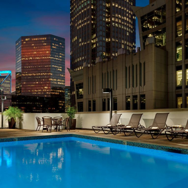 Holiday inn Center City, Charlotte NC, Seasonal Pool