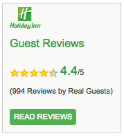 Holiday Inn Guest Reviews logo
